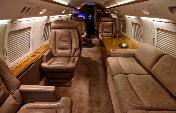GIV-1007-Forward facing cabin