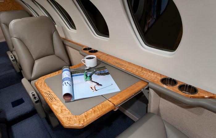Cessna-Citation-V-Executive table