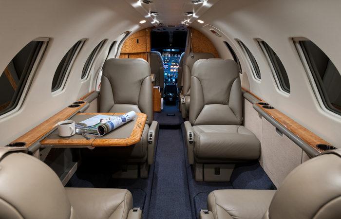 Cessna-Citation-V-Forward facing cabin