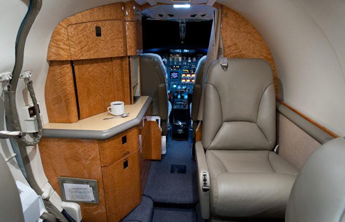 Cessna-Citation-V-Refreshment center