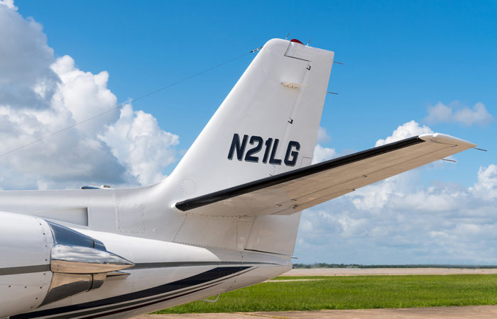 Cessna-Citation-V-Tail detail