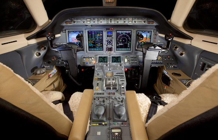Cessna-Sovereign-BB Cockpit