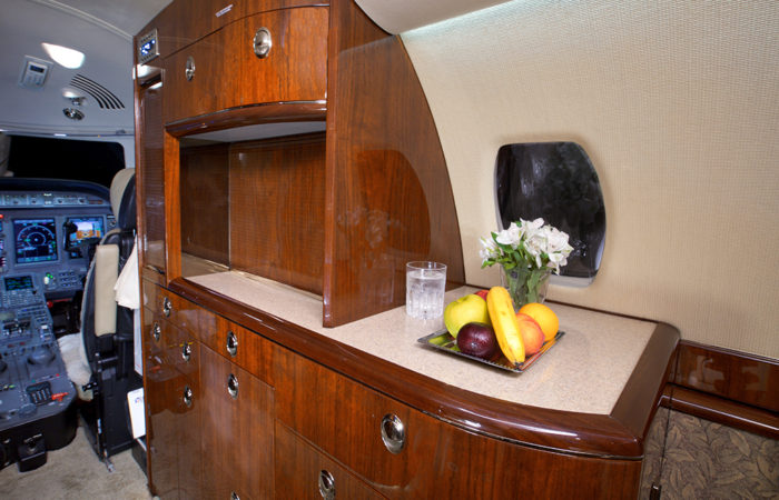 Cessna-Sovereign-CC Galley
