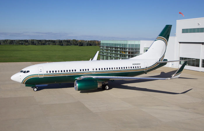Boeing BBJ for Sale by Welsch Aviation